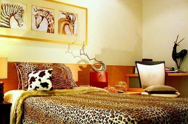 Звериный принт в интерьере: дикие страсти живой природы в современной квартире