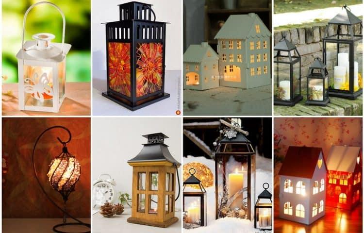 Вдохновение дня: свечные фонарики для декора дома и дачи фото