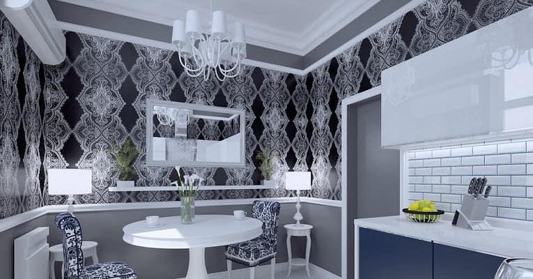 Стилизация под кружево в декоре интерьера ванной комнаты фото