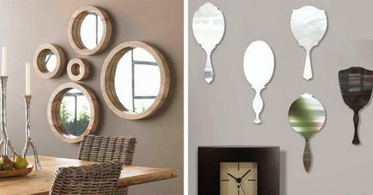 Как использовать зеркала в современном интерьере квартиры фото