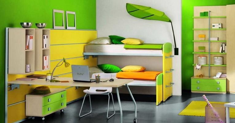 Детские комнаты для нескольких детей мальчиков и девочек фото