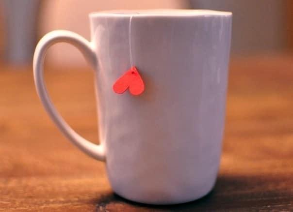 Делаем чай в подарок на 14 февраля