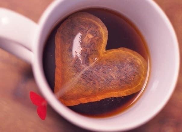 Пакетики чая в виде сердечка своими руками