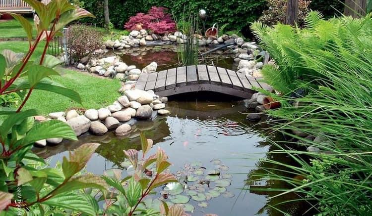 Как сделать пруд в саду своими руками