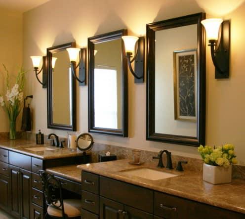 Спальня-гардеробная: Зеркала
