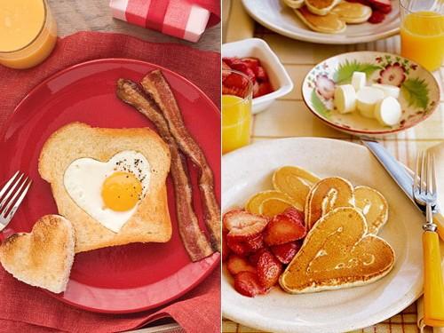 Завтрак на 14 февраля - идеи