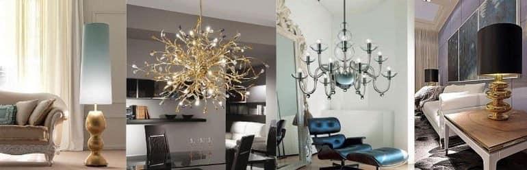 Фото люстр и подвесных светильников для гостиной