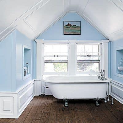 Как сделать ванную на чердаке фоо