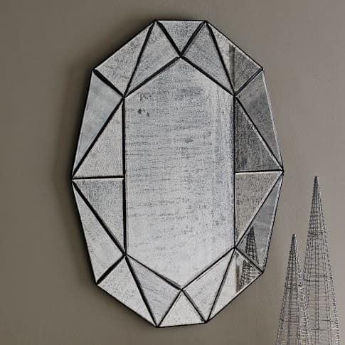 Эффект состаривания поверхности зеркала фото
