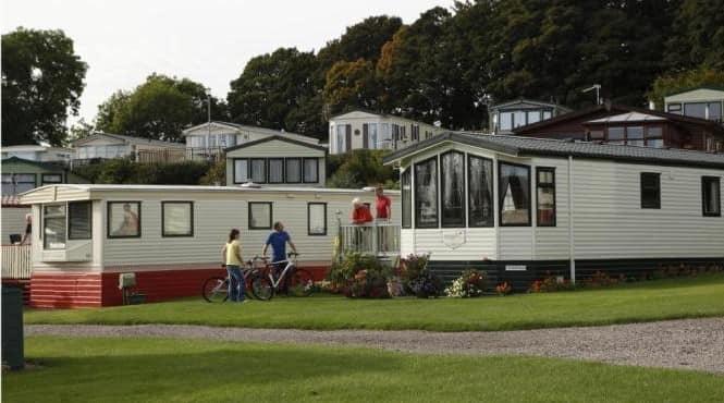 Английские мобильные домики - поселок