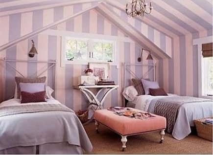 Делаем под крышей спальню для гостей