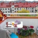 Экономный уголок на балконе