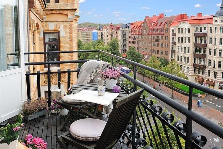Как сделать столик на балкон своими руками