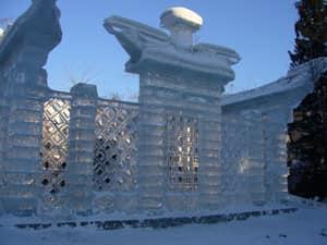 Ледяной дворец фото