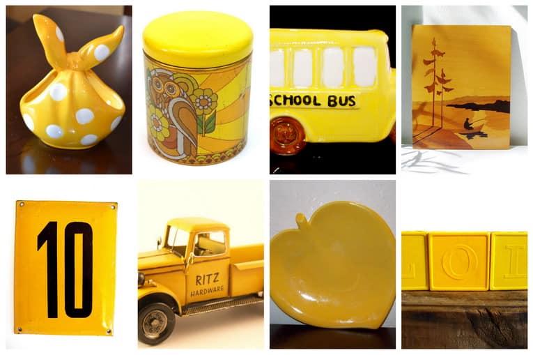 Вдохновение дня: винтаж и желтый цвет