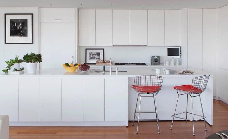 Кухня в апартаментах в Бруклине