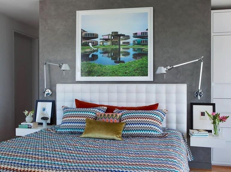 Спальня в апартаментах в Бруклине