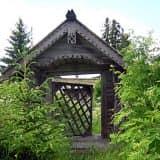 Дверь в сказочный домик