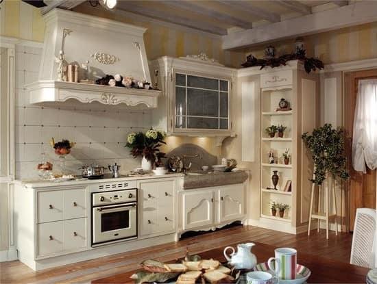 Кухня кантри прованс
