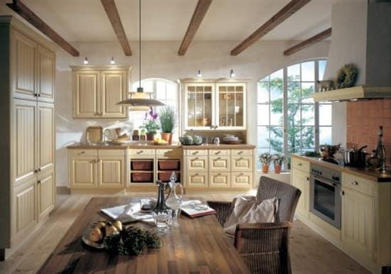 Кухня и столовая в стиле кантри