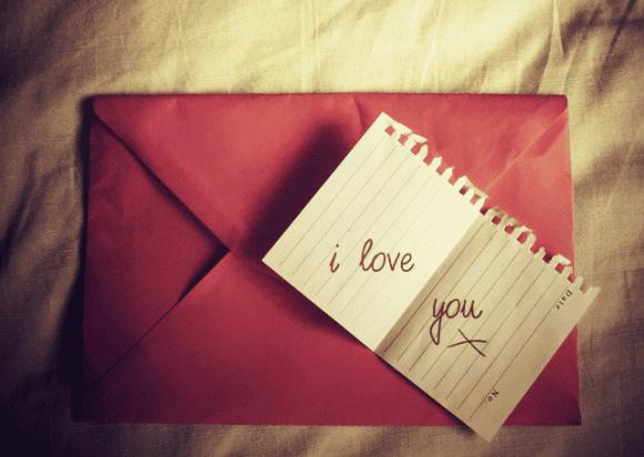100 причин, почему я тебя люблю, в конверте