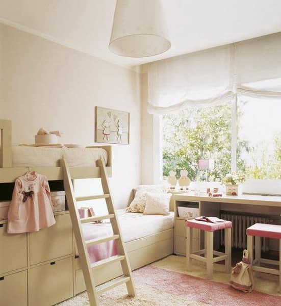 Компактная детская в маленькой комнате