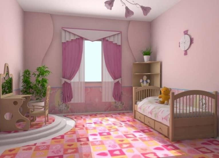 Подбираем правильную длину кроватки для девочки