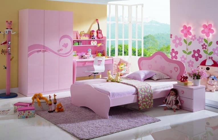 Детская с кроватью для девочки от Milli Willi Rose