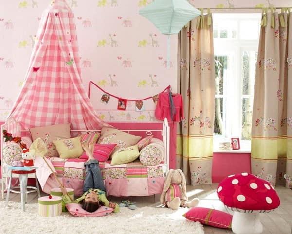 Кровать трансформер для маленькой детской комнаты