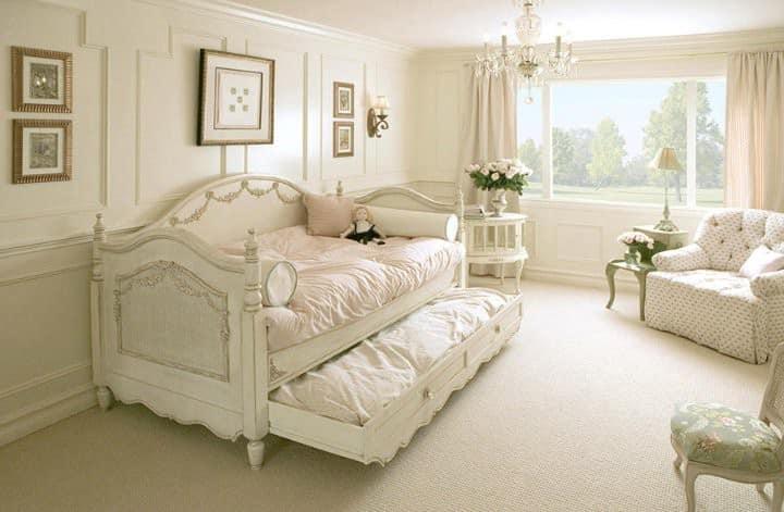 Кровать для девочки с выдвижными ящиками фото