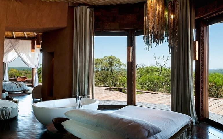 Вилла в ЮАР для африканского сафари: ванная комната