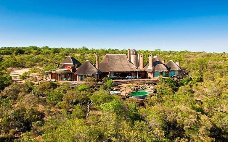 Вилла в ЮАР вдали от цивилизации для отдыха и африканского сафари: фото