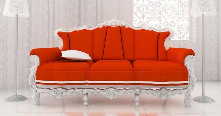 Яркий диван в интерьере: выбираем цвет