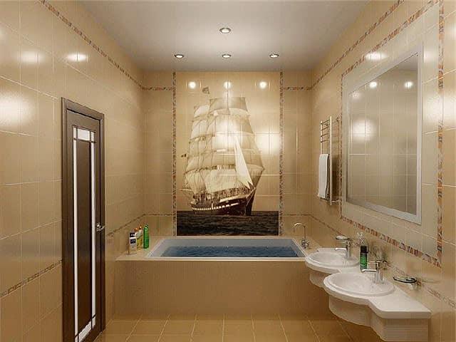 Узоры для ванных комнат 1