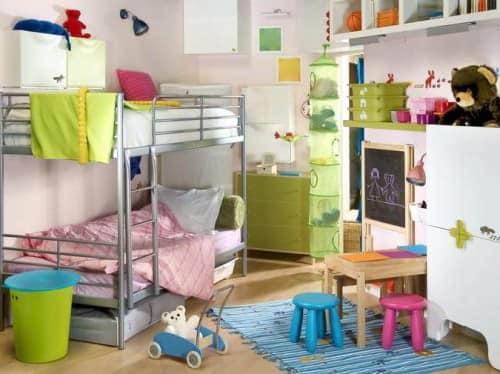 Детская для двух детей от IKEA фото
