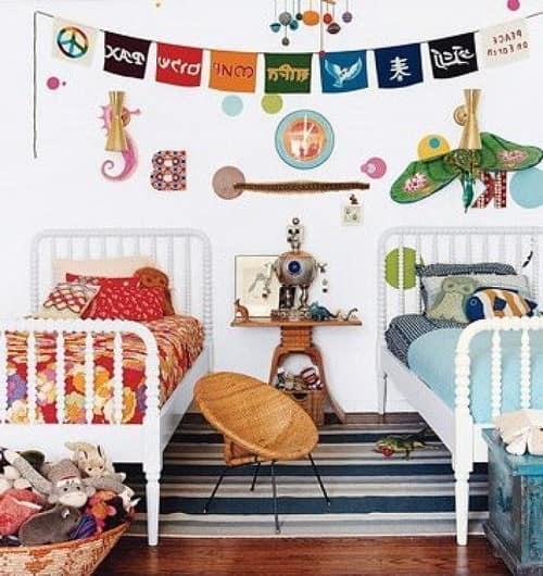 Пол в детской комнате для разнополых детей