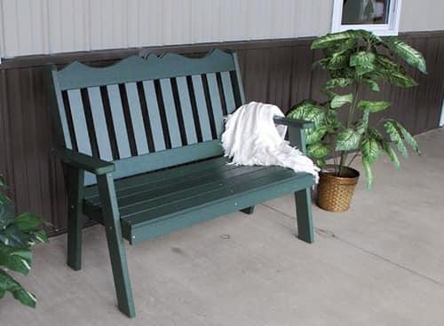 Переносная деревянная скамейки для сада