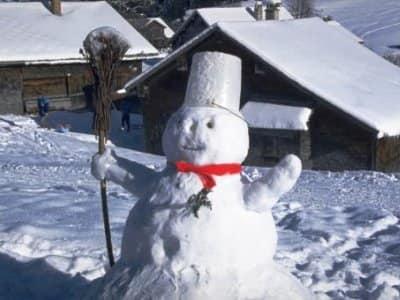 Классический снеговик