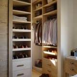 Полки в гардеробе