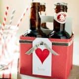 Праздничная коробка пива