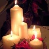 Украшаем свечами