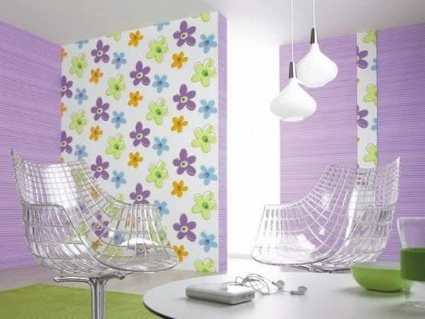 Фиолетовый в интерьере: Сочетание простоты и изысканности