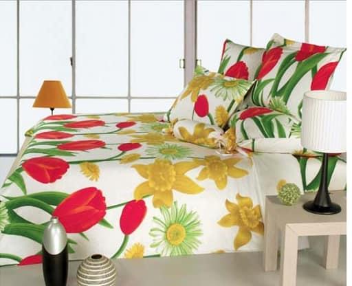 Постельное белье с цветами - простой способ добавить ярких красок в дом