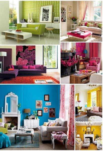Основные цвета для весеннего декора квартиры