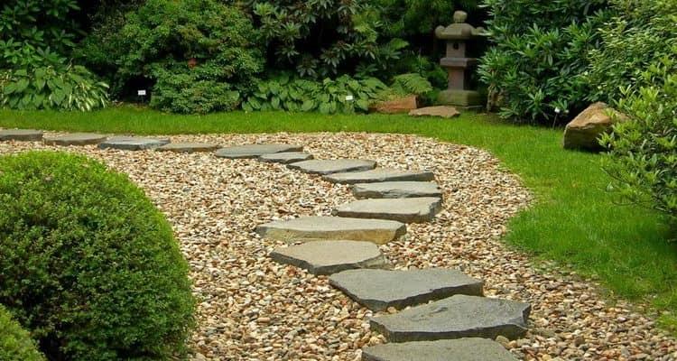Каменные садовые дорожки: идеи и фото