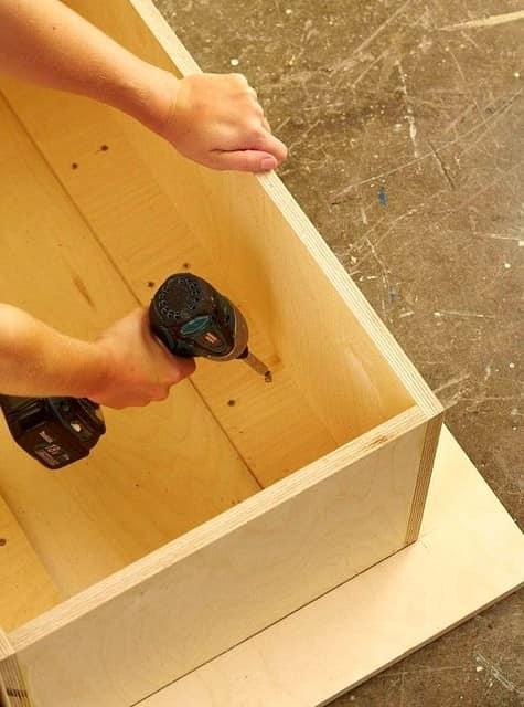 Делаем коробку из фанеры - основу под журнальный столик