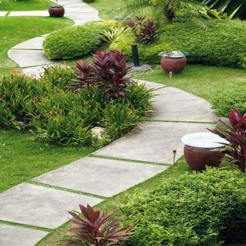 Дорожка для сада из бетона фото