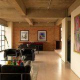 Потолок стиля лофт