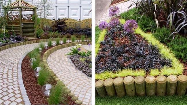 Идеи для декоративного огорода в ландшафтном дизайне фото