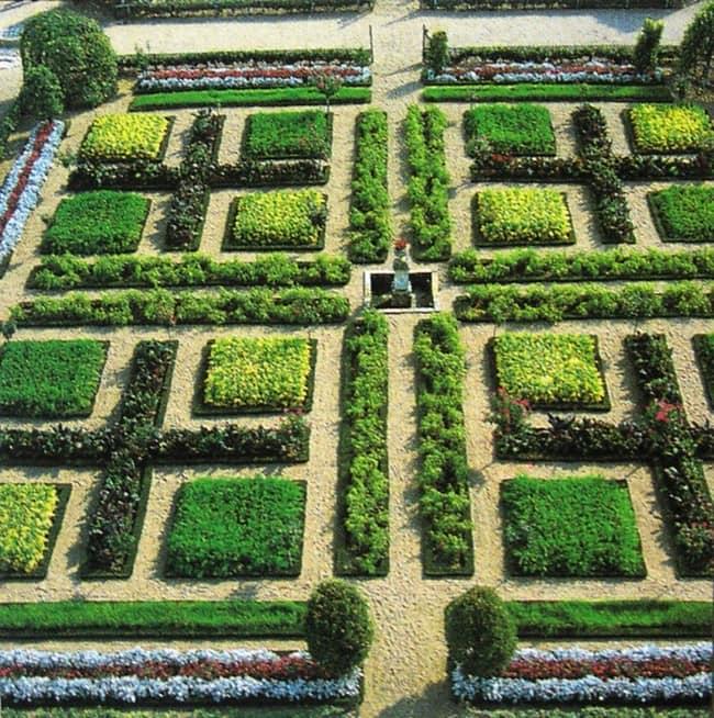 Большой декоративный огород фото